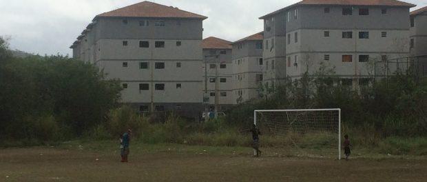 Pollyana and Luis live in a Minha Casa Minha Vida public housing development outside Rio de Janeiro