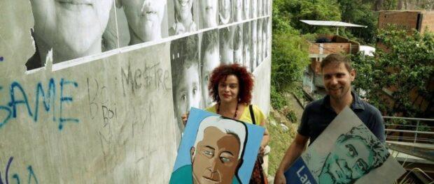 Bárbara Nascimento and André Koller (Photo fromGlobo)