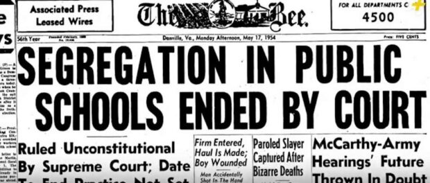Segregation ended in U.S. courts