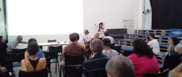 Presentation at Forum Baía Viva