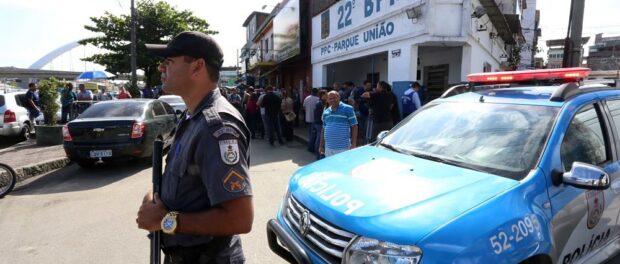 Military police in Maré, Photo: André Gomes de Melo, GERJ
