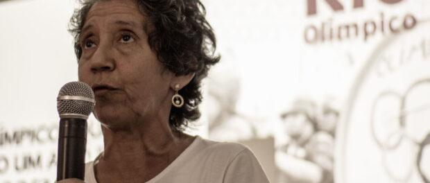 Maria da Penha from Vila Autódromo.