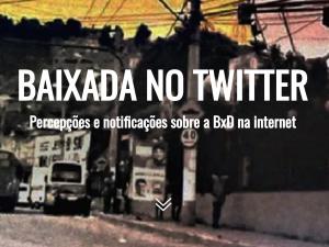 Baixada no Twitter. Photo by Igor de Freitas Lima