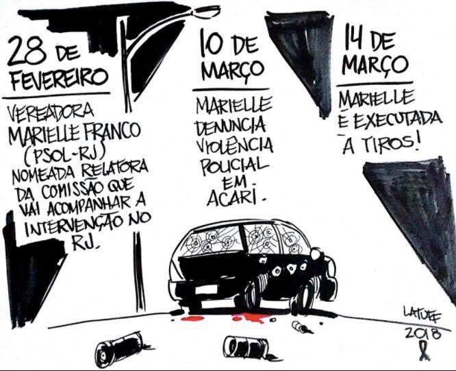 Brazil cartoonist Carlos Latuff illustration