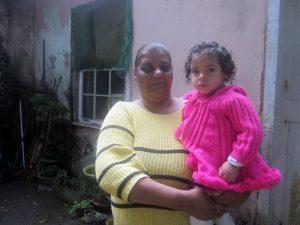Maria Haydée Alves da Silva, lifelong resident of Vila Hípica