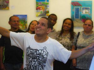 Ricardo Rodrigues at Castelinho exhibition