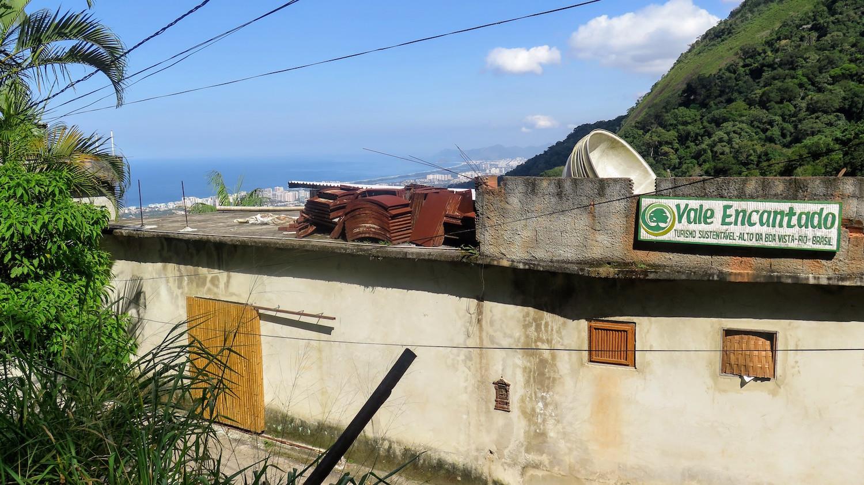 The Vale Encantado cooperative sits atop the Tijuca forest overlooking Barra da Tijuca