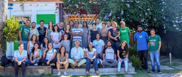 Full group first SFN exchange. Photo by Luiza de Andrade