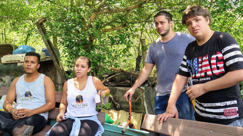 Vinicius, Patricia, Rodrigo and Douglas of Verdejar.