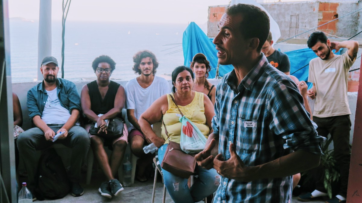 Carlos André do Nascimento of RONGO and the Graffiti Museum shares his strategies for project development.