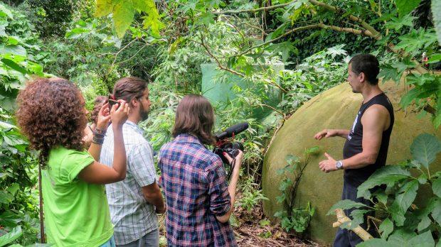 Ecotourism in Vale Encantado's biodigestor