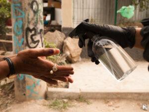 Jacarezinho favela community action by campaign Jaca contra o Corona. Photo by Gerente