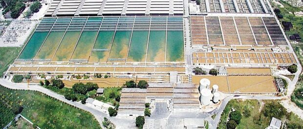 Sanitation regulation approved in the Senate and sanctioned by Bolsonario aims to increase the participation of private entities in the sector. In the picture, there is Guangu Sewage Treatment Station.
