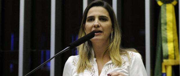 Mayoral candidate Clarissa Garotinho. Photo by: Luis Macedo/Câmara dos Deputados.