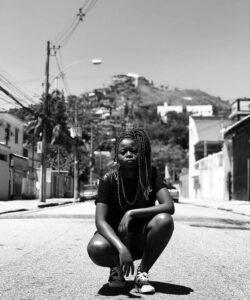 MC Martina is a poet, rapper, cultural producer, slam poet, and creator of Slam Laje. Photo by Josiane Santana