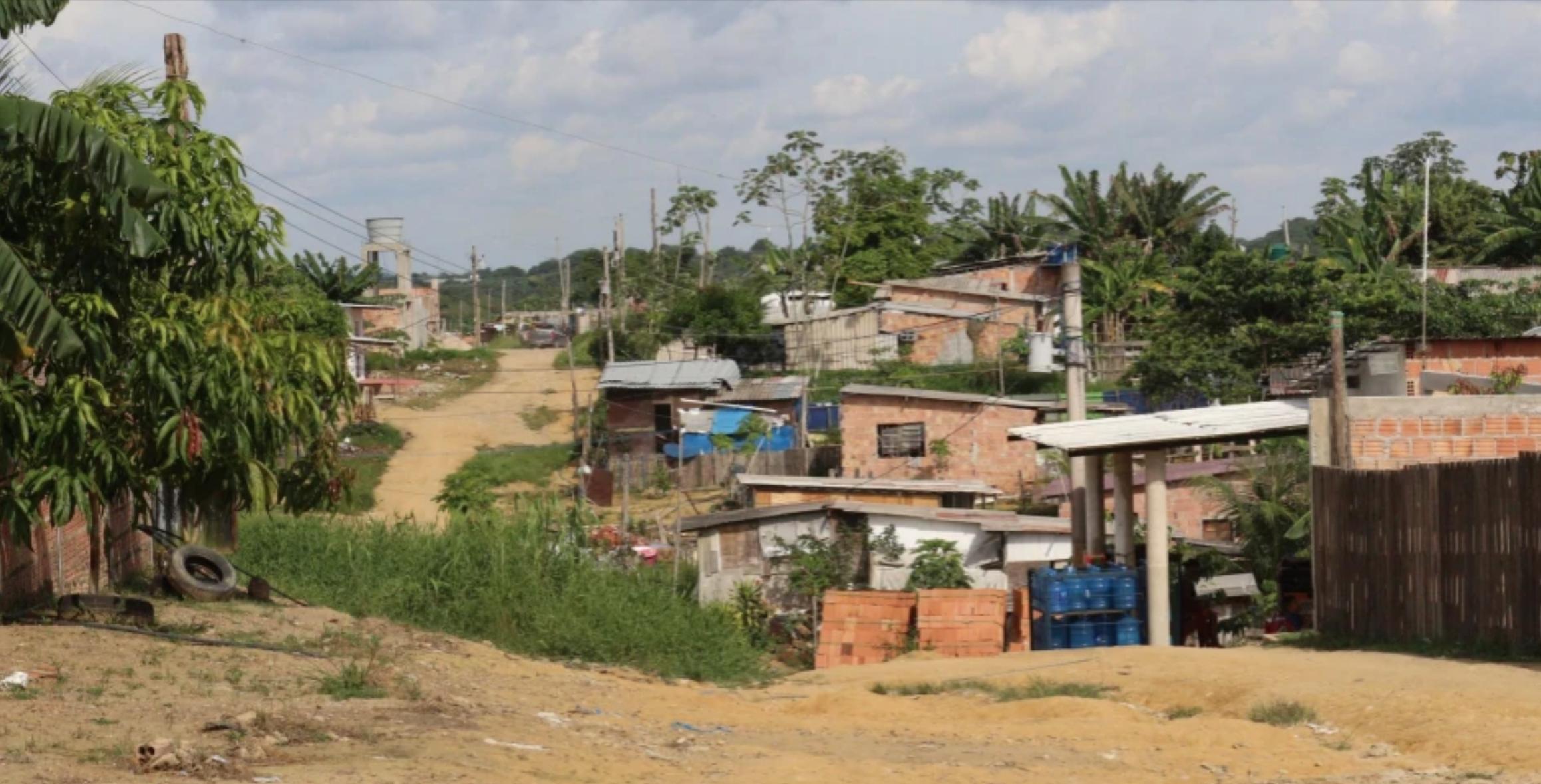 Parque das Tribos neighborhood, located in the West Zone of Manaus. (Photo: Jullie Pereira)